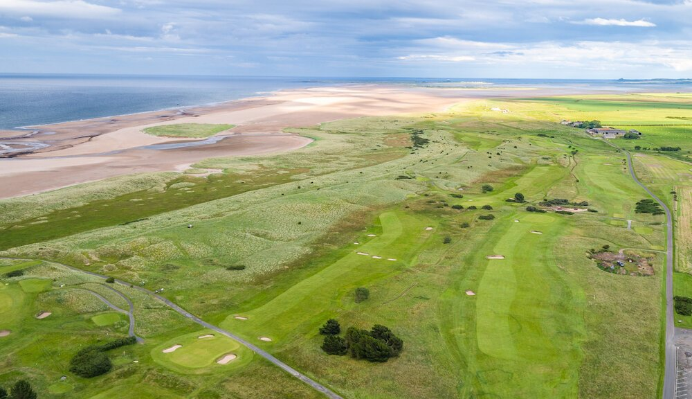 Gpswock Golf Course Northumberland, Berwick upon Tweed, Scottish Borders